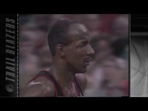 Clyde Drexler: 1991-1992 NBA Playoffs Reel