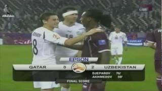 Uzbekistan vs Qatar 2-0