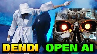 DOTA 2 TI7 NEW OPEN AI SKYNET BOT vs DENDI