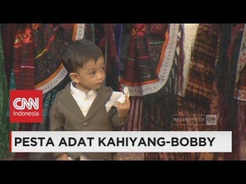 Jan Ethes Cucu Jokowi Lucu dan Menggemaskan di Pesta Adat Bobby - Kahiyang