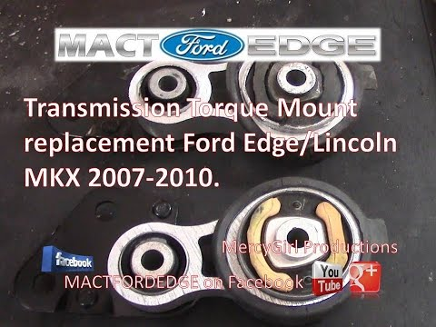 Transmission Torque Mount replacement Lincoln MKX Ford Edge 2007 to 2010