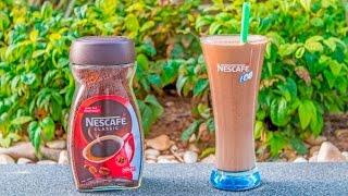Nescafe ile Çikolatalı ve Kremalı Soğuk Kahve