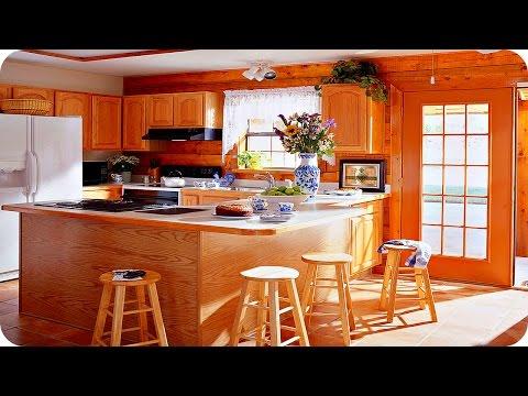 Кухня из дерева своими руками фото