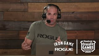 Rogue Iron Game Show - Day 1, Episode 1 | Live At The 2020 Reebok CrossFit Games
