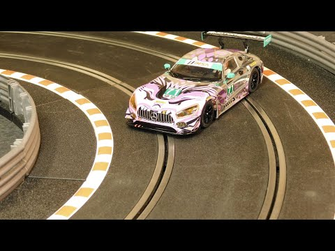 Track #47 – Drifting Circle – Scalextric & Slot Car Racing Track