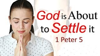 GOD IS ABOUT TO SETTLE IT - JOIN PASTOR SEAN LIVE SUNDAY 7pm CST/8pm EST