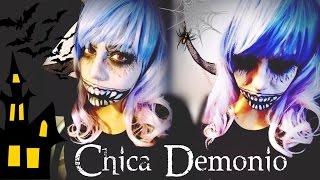 Chica Demonio / Maquillaje de Halloween ♥
