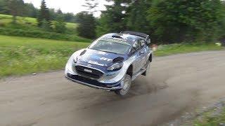 Ott Tänak Sideways Jump Ouninpohja 2017