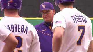 LSU Baseball's First Practice of the Year