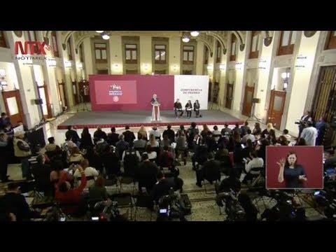 Conferencia de Prensa de AMLO, 15 de abril 2019