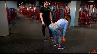 Школа фитнеса. Урок 3 – Как накачать ноги и ягодицы