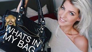 WHATS IN MY BAG? Sarah Nowak