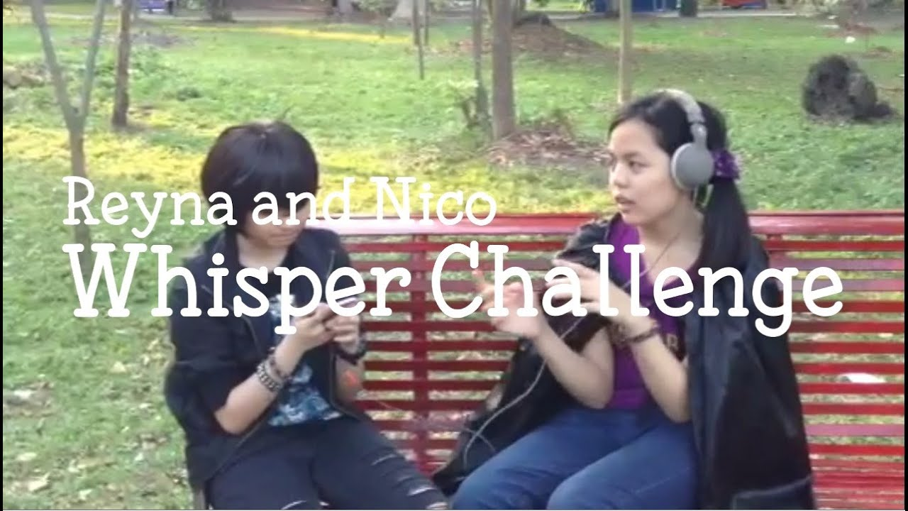 Pjo reyna and nico whisper challenge youtube