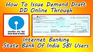 Hindistan FONKSİYONU Kullanıcıların İnternet Bankacılığı Bank Aracılığıyla Talep Taslak/DD Online Sorunu nasıl