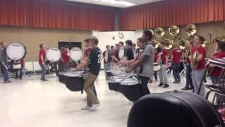 ISU Drumline/ Indoor Rehearsal (11-21-2013) Part 2