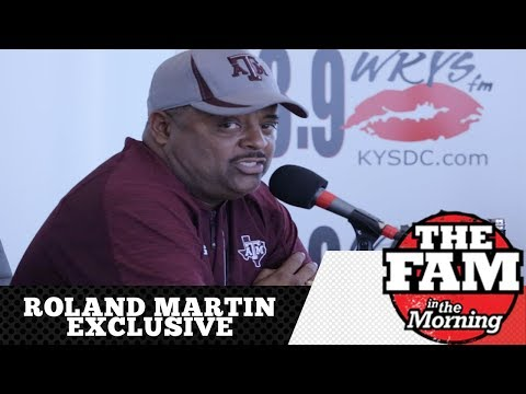 Roland Martin Talks Jemele Hill, Introducing Colin Kaepernick To Hank Aaron & More With The Fam