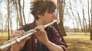 Как играть на флейте Соло из песни группы ДДТ - Что такое осень. Ноты в описании