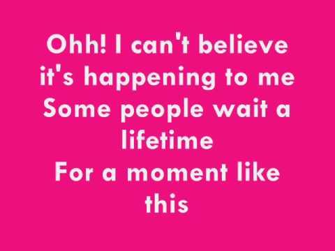 Leona Lewis - Moment Like This w/lyrics