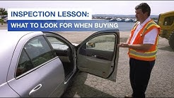 Inspection Lesson | What to Look for When Buying