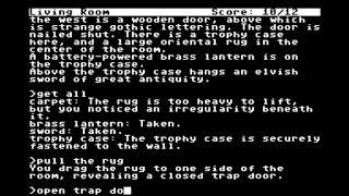 Ozmoo Z-code interpreter playing Mini-Zork