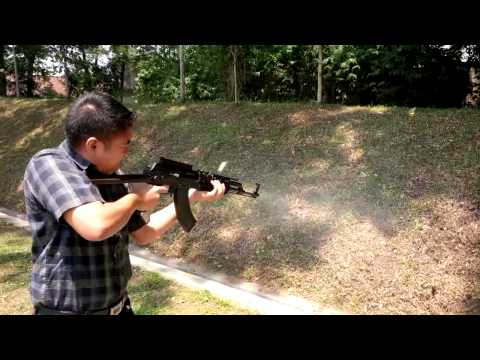 AK-47 Automatic Shoot By PROsignal Indonesia