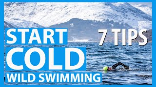 Start Wild Swimming in Cold Water. 7 tips to stay safe in open water.