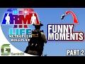 ARMA 3: Metropolis Cop Life - Funny Moments - Ep. 2