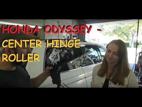 Honda Odyssey - Sliding Door Center Hinge Repair