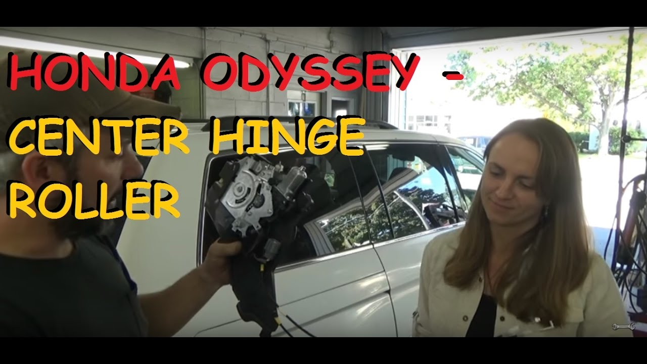 Sliding Doors In Honda Odyssey Won T Open Super Simple Fix Youtube