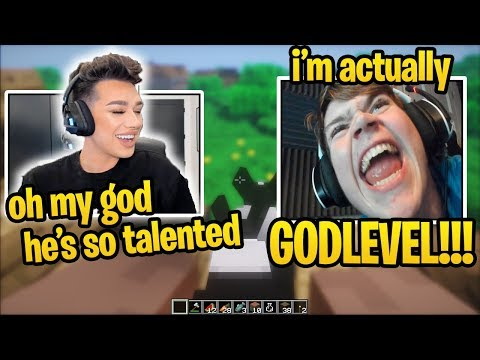 FaZe Mongraal Shows Off 90's To JAMES CHARLES in MINECRAFT (HE CALLS HIM CUTE) (God Speed 90's) thumbnail