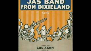 "Original Dixieland Jazz Band ""AT THE JAZZ BAND BALL"" (1918)"