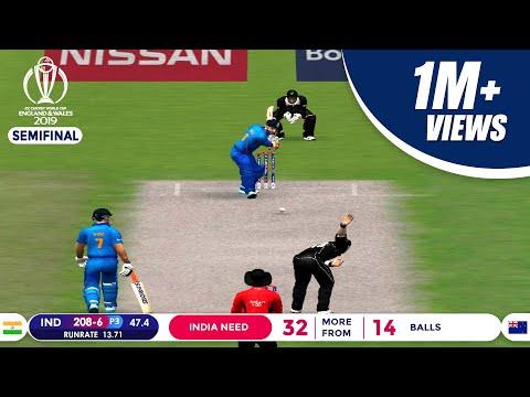 India Vs New Zealand Semi-Final   Jadeja's Sensational Knock Highlights   ICC Cricket World Cup 2019