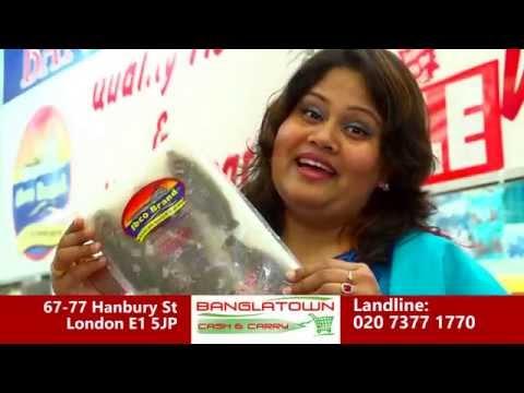 Bangla Town Cash & Carry Advert London E1 5JP