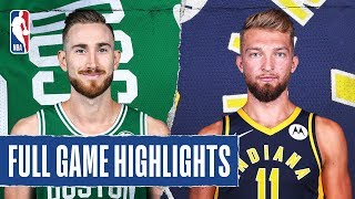 CELTICS at PACERS | FULL GAME HIGHLIGHTS | March 10, 2020