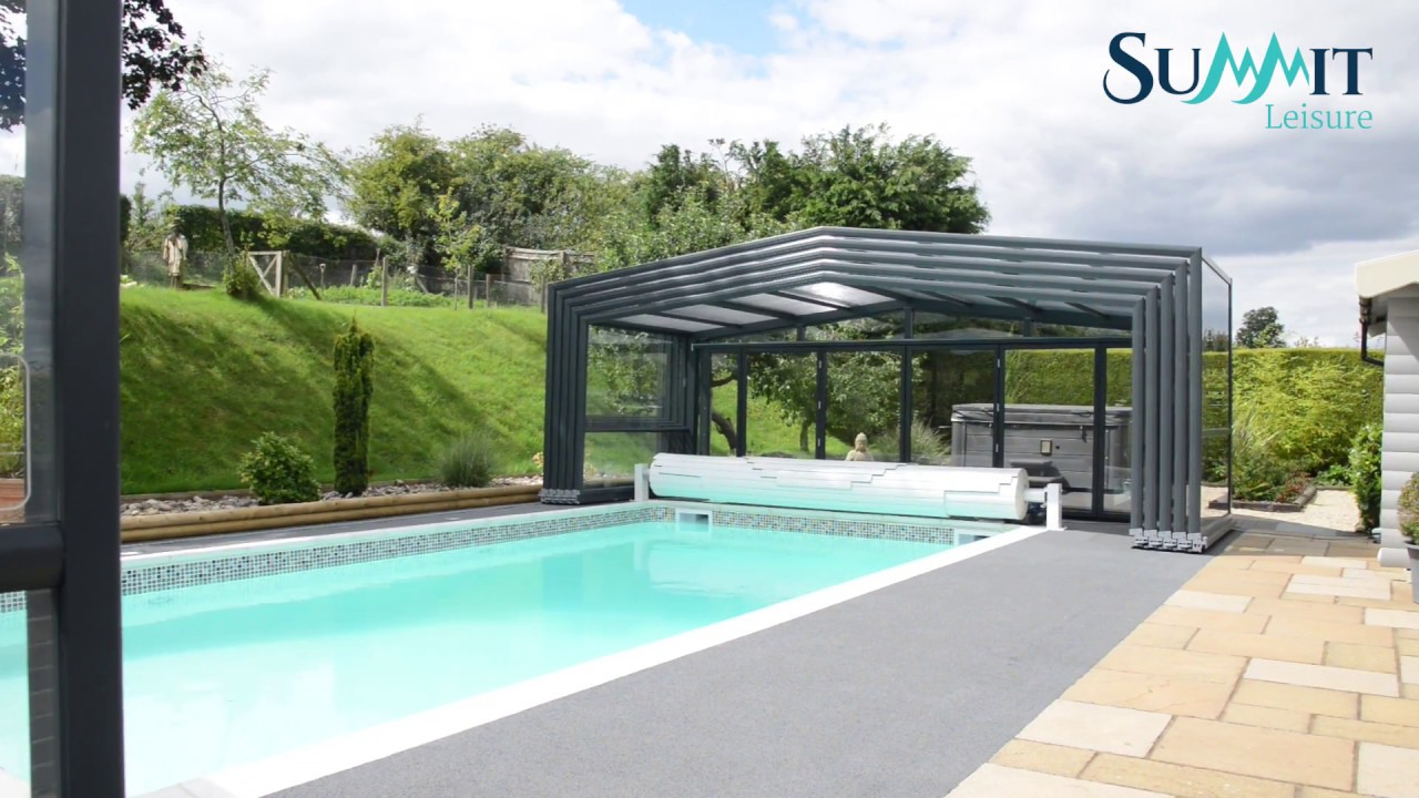Summit Leisure Maestro 3 Angle Telescopic Pool Enclosure Youtube