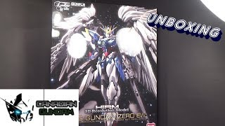 Unboxing: 1/100 High-resolution Wing Gundam Zero EW