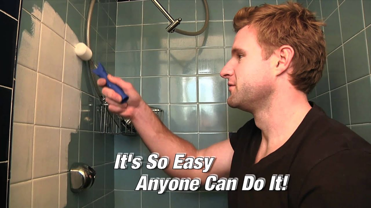 bath, sink and tile refinishing kit for dummies - youtube