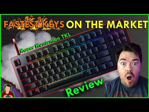 Razer Huntsman Tournament Edition TKL Tenkeyless Gaming Keyboard Review