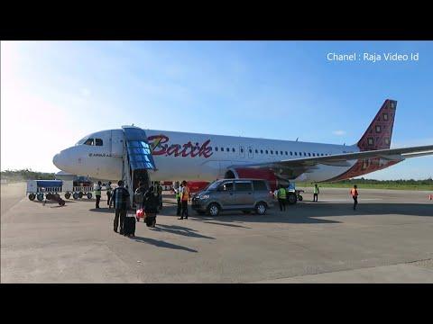 Terbang Dengan Batik Air Sorong - Makassar, Pesawat Airbus A320-20 PK-LUV