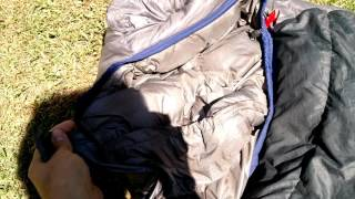 Bolsa de Dormir Pluma -20°C Mountain Blackstone - Kathmandu, Nepal Resimi