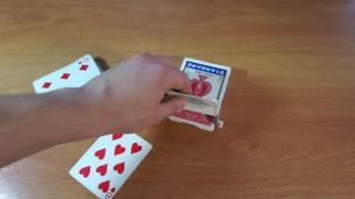 Бесплатное обучение фокусам #39: Фокусы с картами! Обучение карточным фокусам!