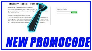 [ROBLOX PROMO CODE] HOW TO GET THE NEON BLUE TIE - ROBLOX FREE PROMOCODE!