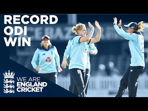 RECORD ODI Win! | England V West Indies Classic | Women's Cricket World Cup 2020