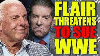 Ric Flair THREATENS TO SUE WWE! WWE Draft 2019! Wrestler Health SCARE! AEW Title! Wrestling News