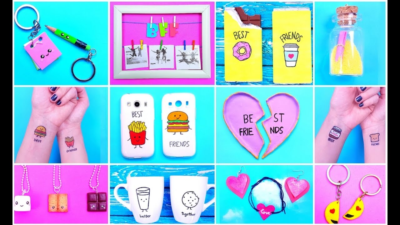 15 Diy Best Friend Birthday Gifts Youtube