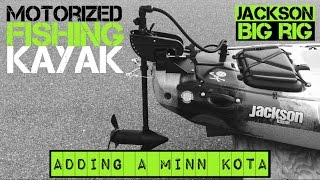 Motorized Fishing Kayak- Jackson Big Rig (2015)