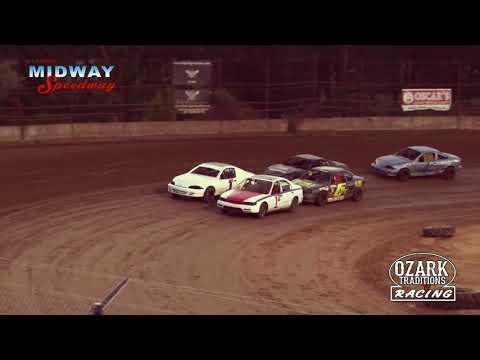 MIDWAY SPEEDWAY - HORNETS - HEAT RACE - 8-2-19