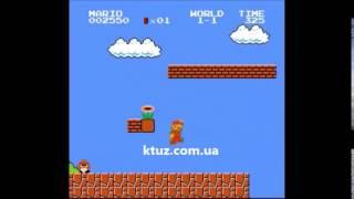 Супер Марио на приставке dendy