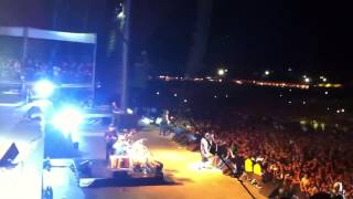 On Stage Metallica - BIG4