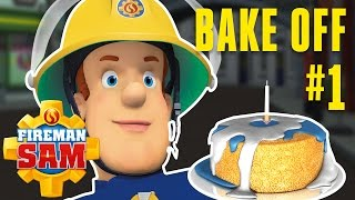 Fireman Sam Official - The Pontypandy Bake Off Begins! 1/5